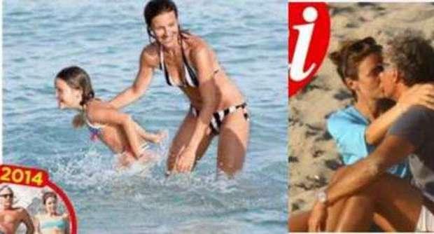 Alessandra Moretti, vacanze da mamma single: «Con Massimo Giletti siamo solo amici»