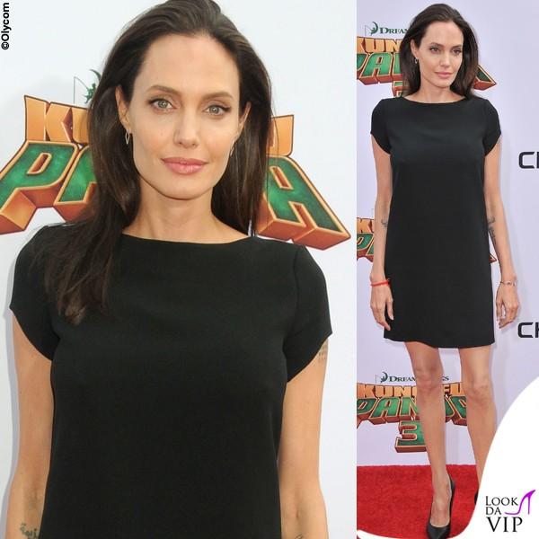 Angelina Jolie, pelle e ossa in Saint Laurent