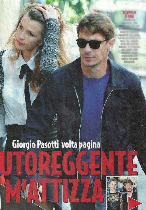 """Giorgio Pasotti dimentica la Romanoff, eccolo con la sexy fidanzata Felicia Cigorescu: """"14 anni di differenza"""""""