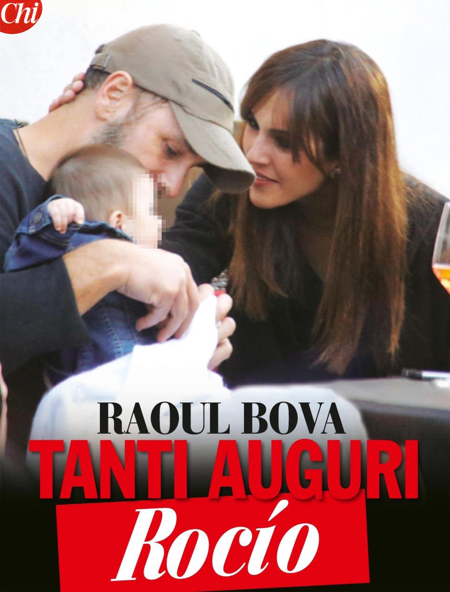 Amore Nero Raoul Bova raoul bova, tanti auguri rocìo: clima d'amore e festa di